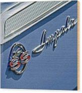 1962 Chevrolet Impala Emblem Wood Print