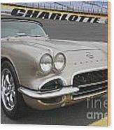 1962 Chevy Corvette Wood Print