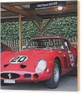 1962 Ferrari 250 Gto  Wood Print