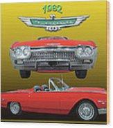 1962 Ford T-bird Sport Wood Print