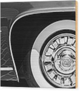 1962 Ghia L6.5 Coupe Wheel Emblem Wood Print