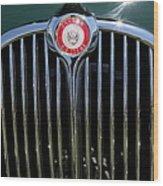 1962 Jaguar Mark II 5d23328 Wood Print by Wingsdomain Art and Photography