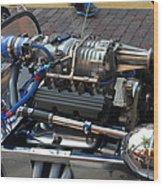 1962 V6 Lotus Engine Wood Print