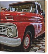 1963 Chev Pick Up Wood Print