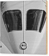 1963 Chevrolet Corvette Split Window -399bw Wood Print