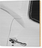 1963 Chevrolet Corvette Split Window E-079bw Wood Print