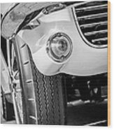 1963 Chevrolet Corvette Split Window Grille -209bw Wood Print