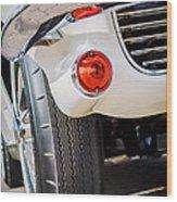 1963 Chevrolet Corvette Split Window Grille -209c Wood Print