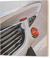 1963 Chevrolet Corvette Split Window Grille -221c Wood Print