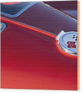 1963 Chevrolet Corvette Split Window Wood Print