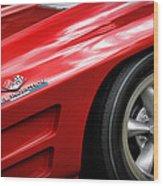 1963 Chevrolet Corvette Sting Ray Z06 Wood Print