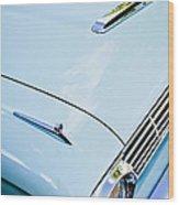 1963 Ford Falcon Futura Convertible Hood Wood Print by Jill Reger
