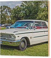 1963 Ford Galaxie 500xl Hardtop Wood Print