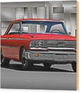 1963 Ford Galaxy 427 Cu. In. Wood Print