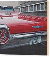 1963 Ford Thunderbird Wood Print