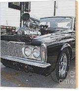 1963 Plymouth Modified Sedan Wood Print