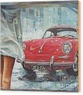 1963 Porsche 356 C Wood Print