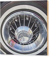 Bonneville Aluminum Rims 1964 Wood Print