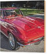 1964 Chevy Corvette Coupe  Wood Print