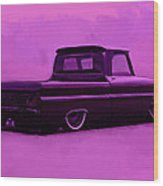 1964 Chevy Low Rider Wood Print