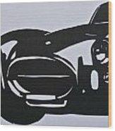 1964 Cobra  Wood Print