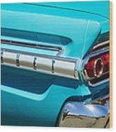 1964 Mercury Comet Taillight Emblem Wood Print