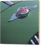 1964 Morgan 44 Hood Ornament Wood Print