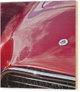 1964 Shelby 289 Cobra Grille -0840c Wood Print