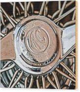 1964 Shelby 289 Cobra Wheel Emblem -0666c Wood Print