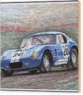 1964 Shelby Daytona Wood Print