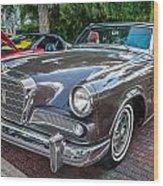 1964 Studebaker Golden Hawk Gt Painted Wood Print