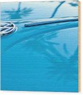 1964 Volkswagen Vw Bug Emblem Wood Print