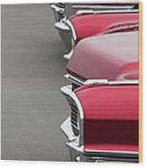1965 Cadillac Deville Convertible Coupe Wood Print