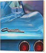 1965 Chevrolet Corvette Stingray Wood Print