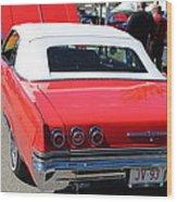 1965 Chevrolet Impala Wood Print
