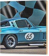 1965 Corvette Wood Print