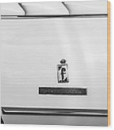 1965 Ferrari 275gts Emblem Wood Print
