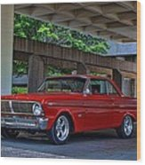 1965 Ford Falcon Wood Print