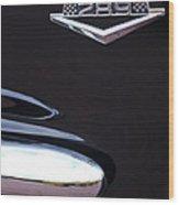 1965 Ford Mustang Gt 289 Emblem -0309c Wood Print