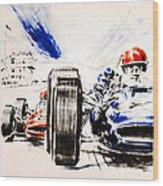 1965 Grand Prix De Paris Wood Print