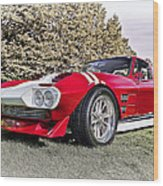 1965 Grand Sport Sebring  Wood Print