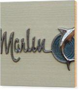 1965 Rambler Marlin Wood Print