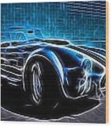 1965 Shelby Cobra - 4 Wood Print