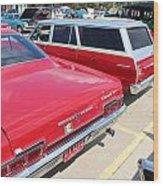 1966 Chevrolet Wood Print