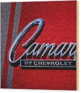 1966 Chevy Camaro Wood Print
