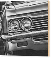 1966 Chevy Impala Ss Convertible Wood Print