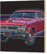 1966 Chevy Ss Wood Print