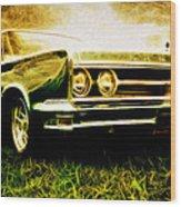 1966 Chrysler 300 Wood Print by Phil 'motography' Clark