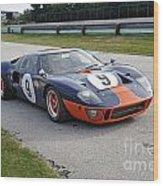 1966 Ford Gt40 Wood Print