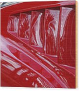 1966 Ford Mustang Gt Side Scoops -032c Wood Print